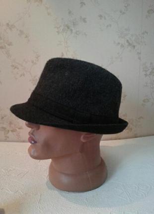 Шляпа капелюшок федора  с мал.полямиavenue one size