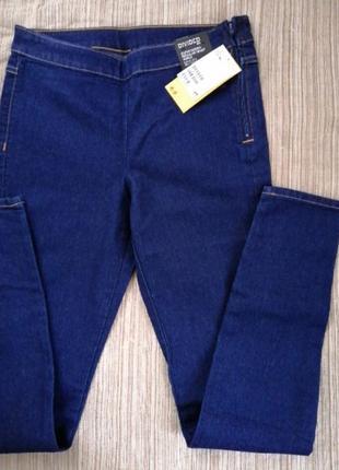 Брюки джинсы лосины стрейч hm