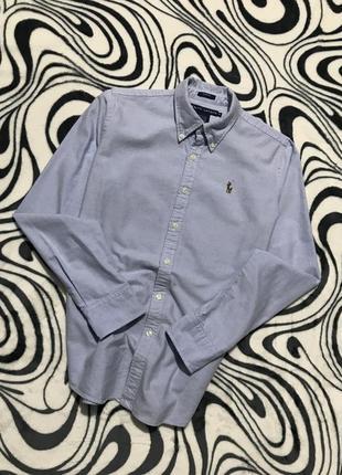 Рубашка ralph lauren с разноцветным всадником