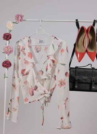 Спокуслива блуза на запах за спокусливою ціною до 31.10