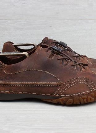 Мужские кожаные кроссовки clarks оригинал, размер 42 - 42.5