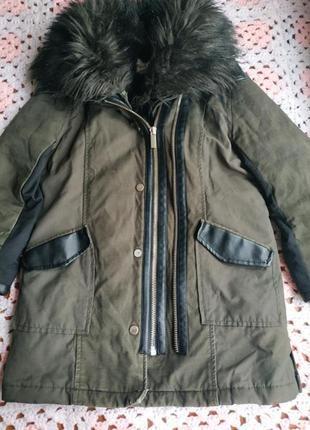 Демосезонная курточка # куртка парка # river island