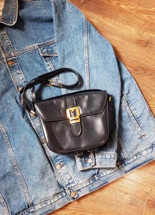 Кожаная сумка на плече, сумочка из натуральной кожи