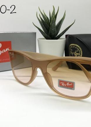 Солнцезащитные очки rayban rb4440-2 персиковый градиент