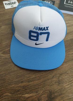 Красивая кепка бейсболка air max nike