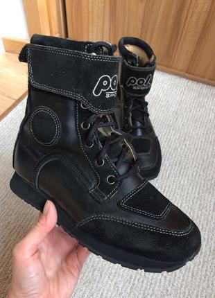 Мото ботинки polo sport