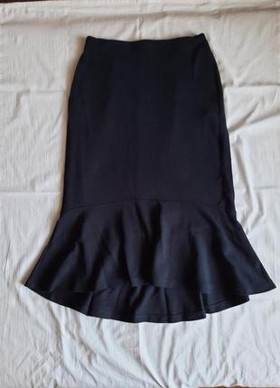 Синяя юбка uniqlo