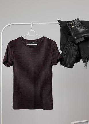 Полосата футболка vero moda