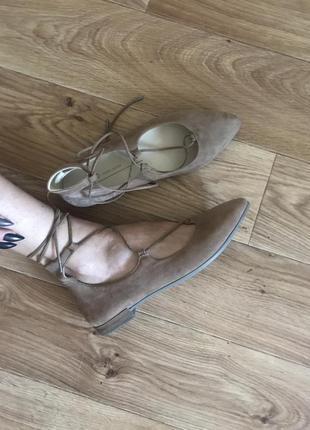 Балетки туфельки ecco
