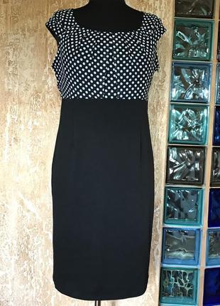 Комбинированное платье от george, размер 16 еаропейский.
