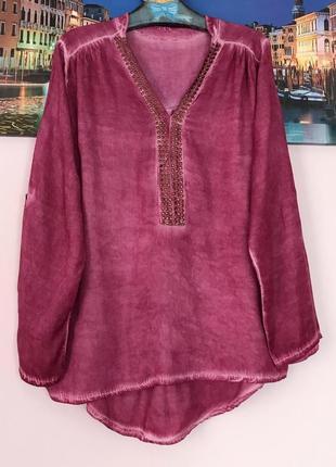Блуза с декором