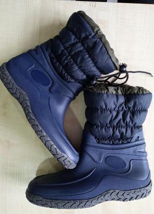 Гумові чоботи утеплені, резиновие сапоги