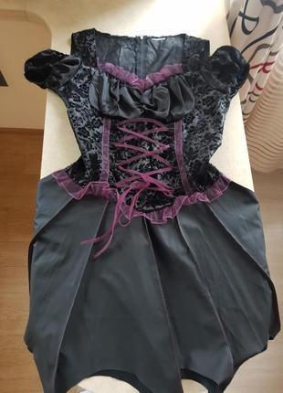 Костюм плаття відьми