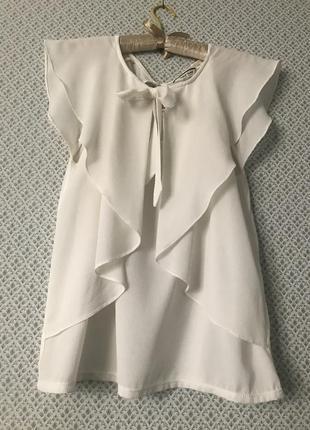 Блузка молочная naf naf