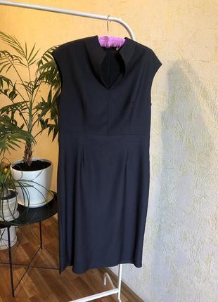 Платье футляр классическое строго деловое сарафан