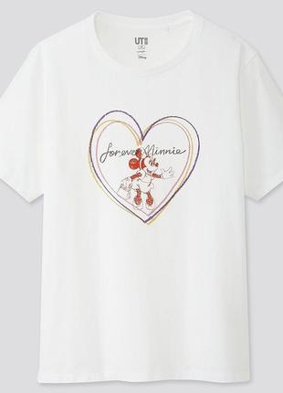 Графическая хлопковая футболка микки маус