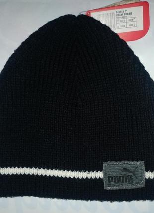 Новая шапка puma husky beanie