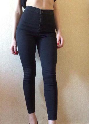 😍 тренд джинсы высока посадка denimco
