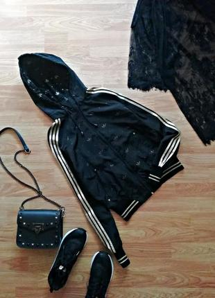 Женская спортивная ветровка -легкая куртка - размер 42-44