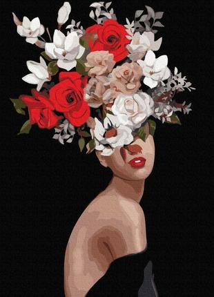 """Картина по номерам """"утонченность цветов"""" эми джадд 40х50 см"""