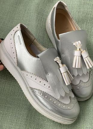 Туфли geox стильные р.34