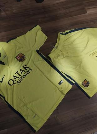 Футбольная форма-барселона (barcelona)