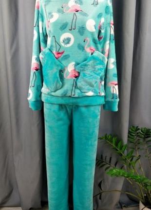 Пижама варежка. полотно вельсофт.
