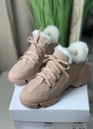 ⚜фирменные люксовые зимние кроссовки