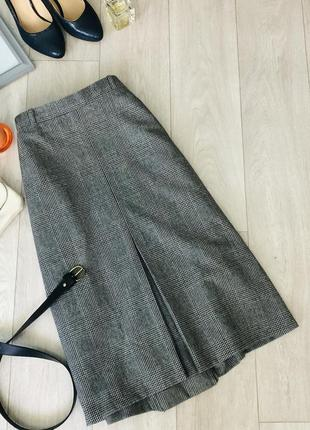 Невероятно стильная юбка от hucke,шерсть