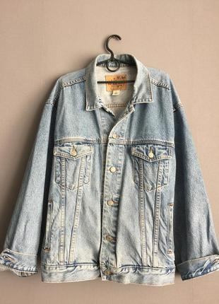 Gap брендовая винтажная джинсовка куртка олдскул.