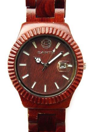 Earth wood pith деревянные мужские часы из сша механизм japan