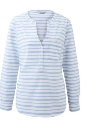 Фирменная рубашка /блуза tchibo р. 42 (наш 48/50)