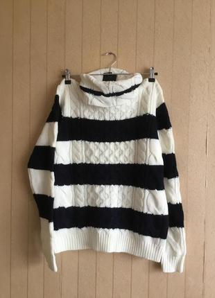Женский вязаный свитер 50 размера