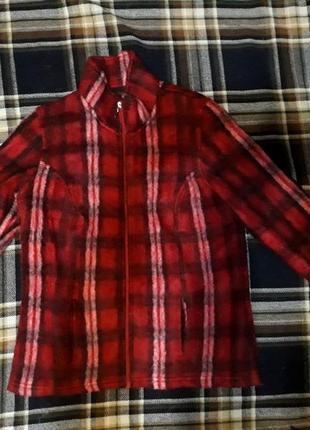 Кофта клетка курточка толстовка батник пиджак свитер шерсть