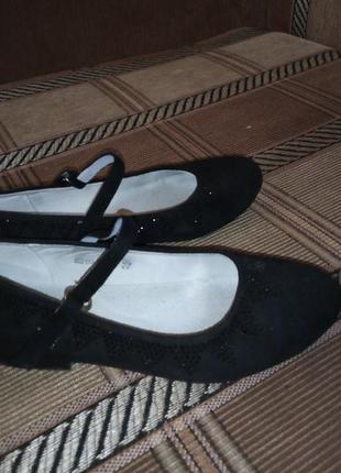 Туфельки нарядные на девочку
