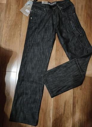 Мужкие теплые джинсы