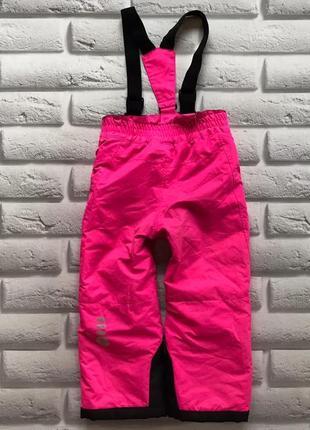 Color kids яркие лыжные штаны на девочку 4-5 лет