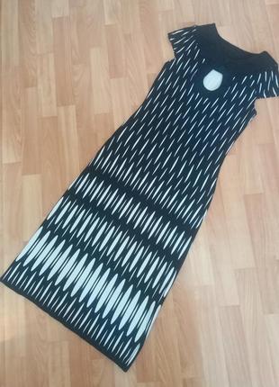 Трикотажное платье miss jannel