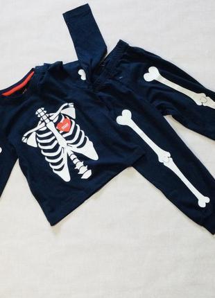 """Пижама на мальчика """"halloween"""". светится в темноте   р.86/92,  98/104,  110/116"""