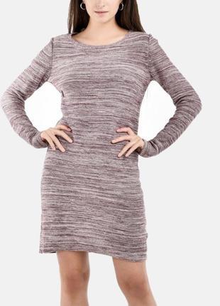 Тепленькое трикотажное платье на осень/зиму