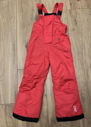 Штаны лыжные для девочки 5-6 лет