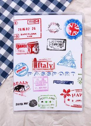 Обложка на паспорт силикон, обгортка для паспорта