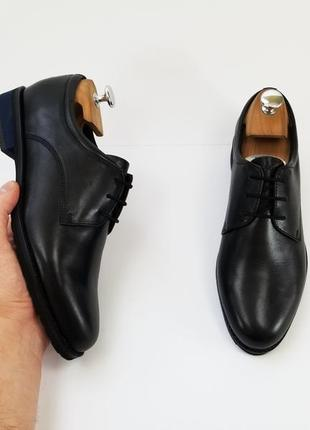 Salamander made in germany черные туфли чорні туфлі 40