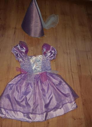 Карнавальный костюм принцесса на 2-3 годика
