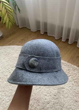 Базова шляпа базовий капелюх базовая шляпа фетр шерсть скидка знижка