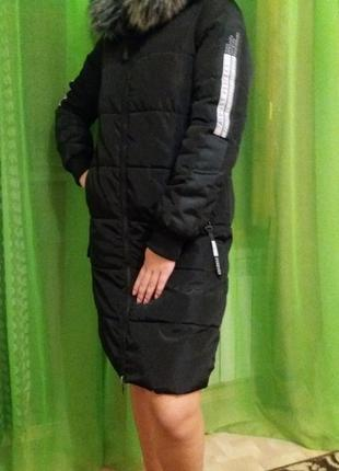 Куртка sinsay пуховик -пальто 🍁🍁44 размера.