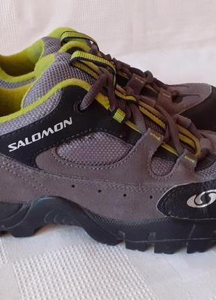 Salomon 119565 кожаные кроссовки р. 36