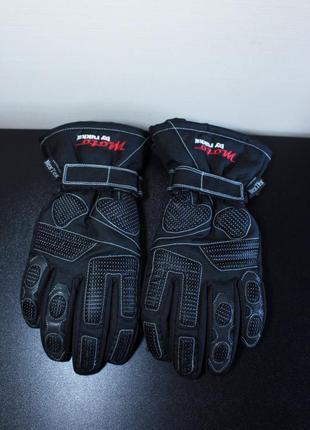 Оригинал rukka saturn 10 кожаные мотоперчатки waterproof nex tex gore-tex
