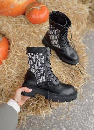 Ботинки milano black