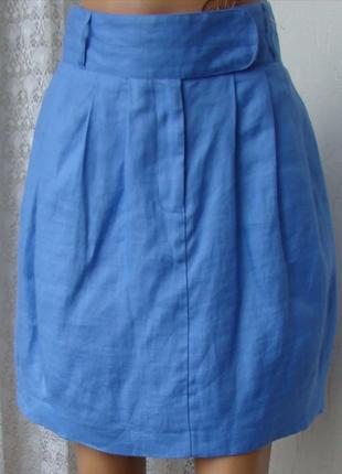 Юбка женская модная крапива рами m&s р.46 5745